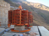 Spiral Chute for Mineral Sand, Iron, Zircon, Chrome Ore Separating