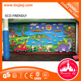 Cartoon Theme Indoor Soft Kids Climbing Wall