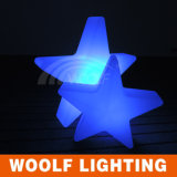 Rechargeable Battery LED Lighted Stars Decor Outdoor