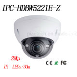 2MP Full HD WDR Network Vandal-Proof IR Dome Camera {Ipc-Hdbw5221e-Z}