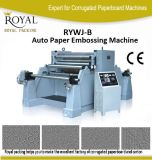 Automatic Paper Roll Embossing Machine for Plastic Film, Paper
