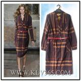 European Style Women Fashion Long Sleeve Office Dress Wholesale