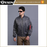 Outdoor American Bomber Jacket Men′s Winter Warm Coat