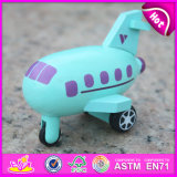 2015 New Plane Toy Wood for Children, Flying Wooden Plane Toy, Wooden Kids Toy Plane Slide, Kids′ Wooden Toy Plane W04A194
