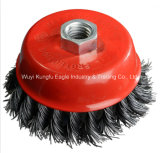 Kexin Super Twisted Knot Wire Cup Steel Brush for Cleaning