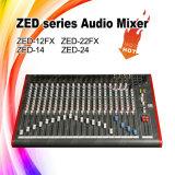 Zed-24 Cheap Price 24 Channels Audio Sound DJ Mixer