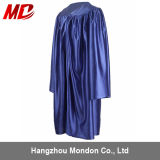 Shiny Royal Blue Graduation Gown for Kindergarten