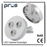 Cabinet CREE 3W LED Puck Lights with Optical Lens