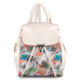 Designer Fashionable Printing PU Leather Backpack Bag (LY05042)