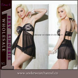 Wholesale Ladies Babydoll Sexy Lingerie Underwear for Woman (T22600)