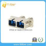Sc-St Duplex Male-Female Hybrid Fiber Optic Adapter