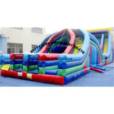 Double Lane Giant Inflatable Obstacle Course