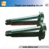 DIN7504k Galvanized Hex Head Self Drilling Screw