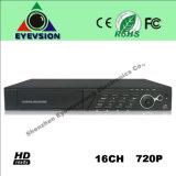 16CH H. 264 (720P) CCTV Security Camera DVR (EV-CH16-N1206C)