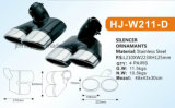 W211-D Exhaust Tips Use Hight Quantity Stainless Steel for Benz