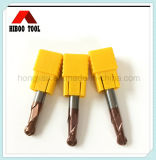 Direct Manufacturer HRC45 Copper Coating Ball End Mill