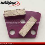 16# Rough Grit Soft Bond Concrete Trapezoid Grinding Block