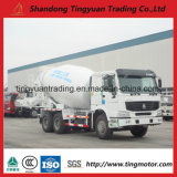 HOWO Concrete Mixer Truck with 371 HP Diesel Engine