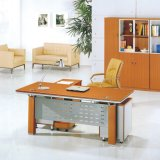 Economy Customizable High Quality Wooden Office Table with Aluminium (SZ-ODT619)