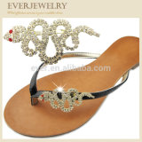 New Arrival Fashion Flip Flop Rhinestone Clips