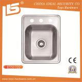 Single Bowl Overmount Sink of Kts1722 American Kitchen Sink