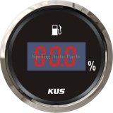 """LED Display 2"""" 52mm Digital Fuel Level Gauge Meter with Backlight"""
