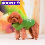 Hoopet Green and Brown Dog Clothes Winter Supplies