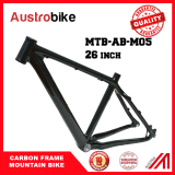 "Full Carbon Ud Matt Matte Mountain Bike MTB 26"" Wheel Bsa Frame"