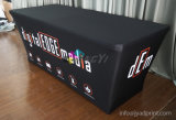 Customized No Wrinkle Elasticity Fabric Exhibition Table Display with Zipper