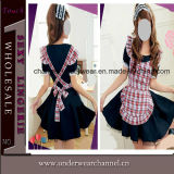 Wholesale Adult Halloween Anime Girl Maid Cosplay Costume (TBLS148)