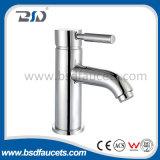 Deck Mounted Chromed Brass UK Style Mono Basin Faucet Mixer