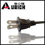 China Supplier Salt Lamp UL Approval Cable 1-15p Male Plug E12 End Nispt-2 Power Cord