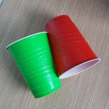 Disposable Frosted Surface 16oz PP Plastic Red Party Cups