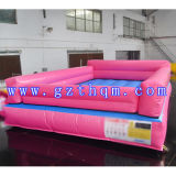 Indoor Adult Sports Inflatable Air Track PVC Pink Cushion Track