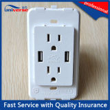 13 AMP Switched Socket with 2 Port USB Wall Socket