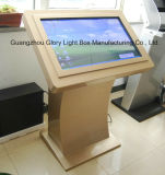 42 Inch Bank Table Touch Screen for advertisement