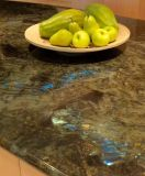 Jade Blue Labradorite Granite Solid Surface Workbench Table Top