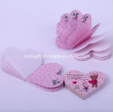 Customized Die-Cut Heart Shaped Sticky Note Pad