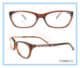 Metal and Acetate Combination Classic Eyewear Frame