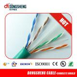 CE/RoHS/ ETL LAN Cable Solid 0.57mm/0.55mm UTP CAT6