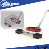 Steel Wheel Cra-12 18 Ton Cargo Trolley Machinery Moving Skate