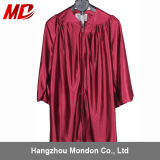 Wholesale Children Graduation Gown Only Shiny Maroon