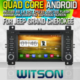 Witson S160 for Jeep Grand Cherokee Car DVD GPS Player with Rk3188 Quad Core HD1024X600 Screen 16GB Flash 1080P WiFi 3G Front DVR DVB-T Mirror-Link Pip(W2-M263)