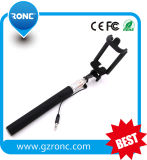 2016 Wholesale Wired Selfie Stick with Cable
