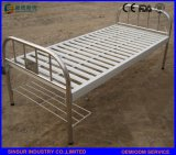 From China Cheap Metal Flat Medical Bed Price