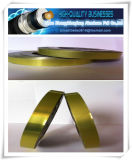 Yellow Color Cable Insulation Laminated Alu Pet Tape