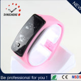 Simple Silicone Unisex Mute LED Watches, Watch Manufacturer Mirror LED LCD Wrist Bangle