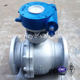 """150lb 8"""" Worm Operated Ball Valve"""