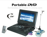 7inch Portable DVD Player with TV Game Radio