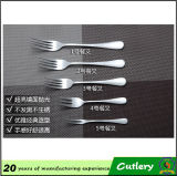 High Quality Stainless Steel Silver Coated Fork